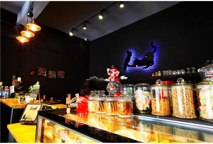淡水 新生街 貓肥咖啡廳 氛圍類