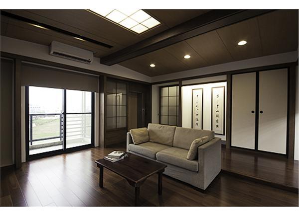 一間別墅兼容四種風格