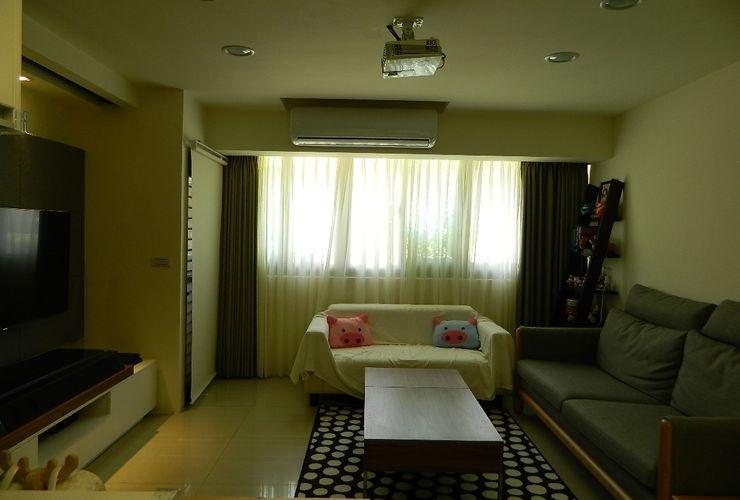 20坪現代簡約套房