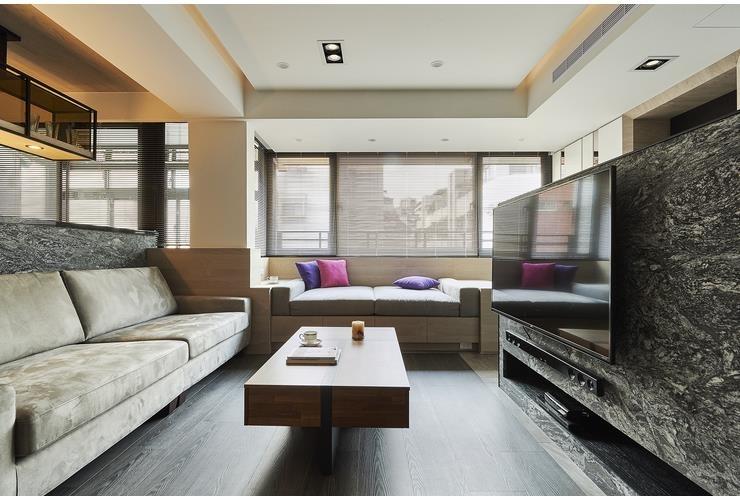 簡約休閒風,讓40幾年老公寓清爽回春!