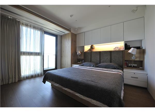 臥室,現代風