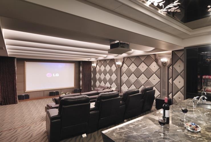 室內設計-視聽室1