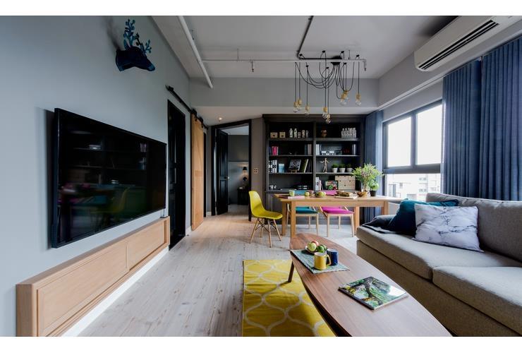 建築師的家 美式Mix輕工業住宅