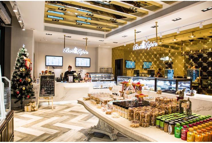 視覺系複合式甜品店