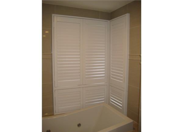 塑鋁百葉窗  浴室