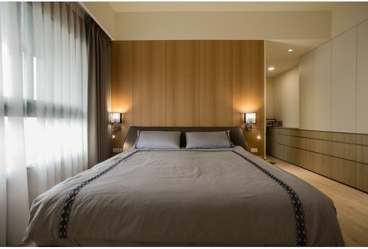 臥室,北歐風