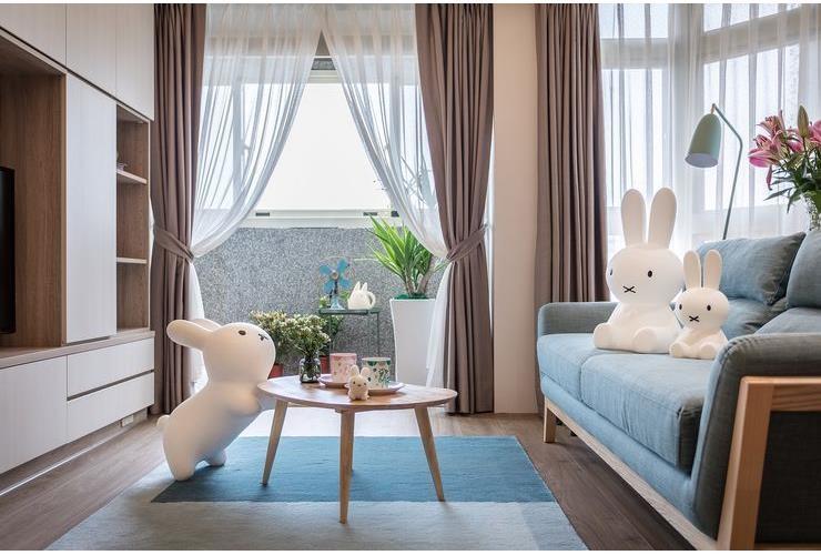 北歐日式就是愛米飛兔,童趣生活溫馨宅