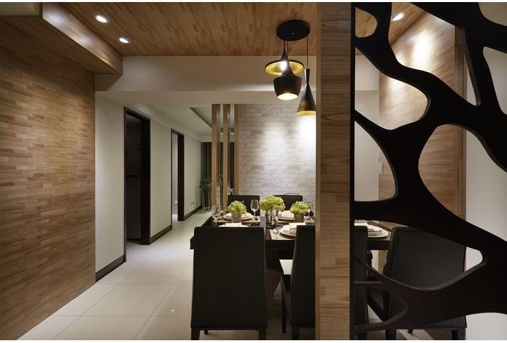 玩轉創意 摩登美麗木空間,Modern