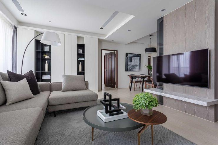 現代簡約人文宅-設計、線條、生活,Modern