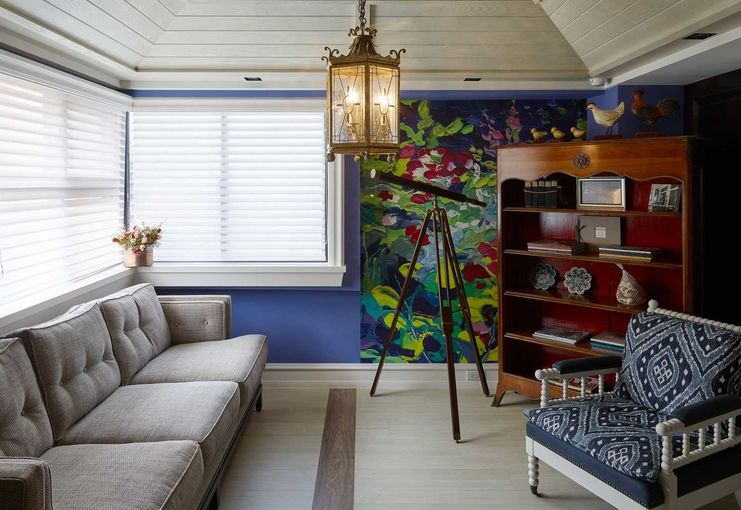 美式設計的創作起源-尚展設計台北辦公室,American