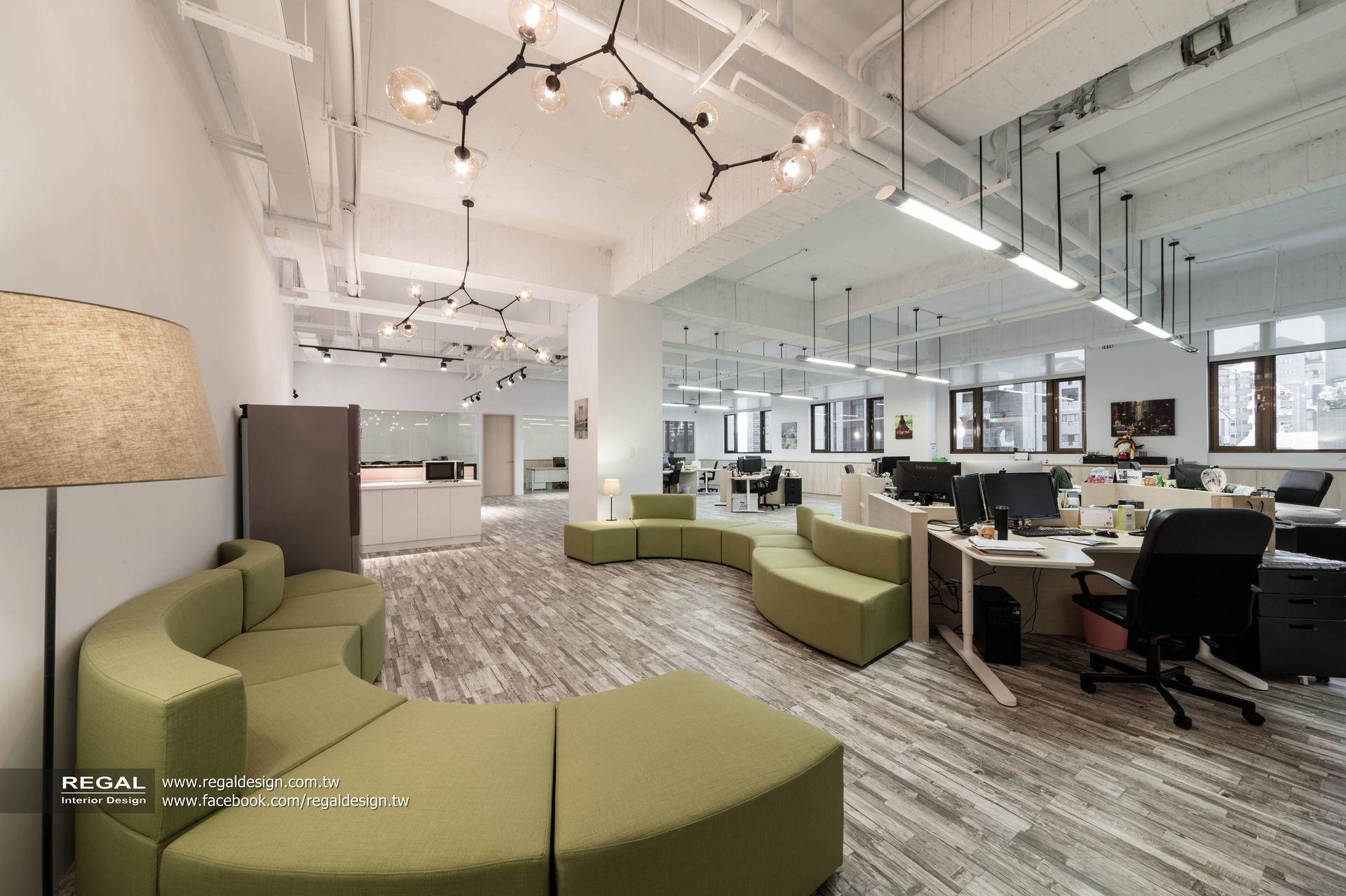 提高工作效率的北歐辦公室設計