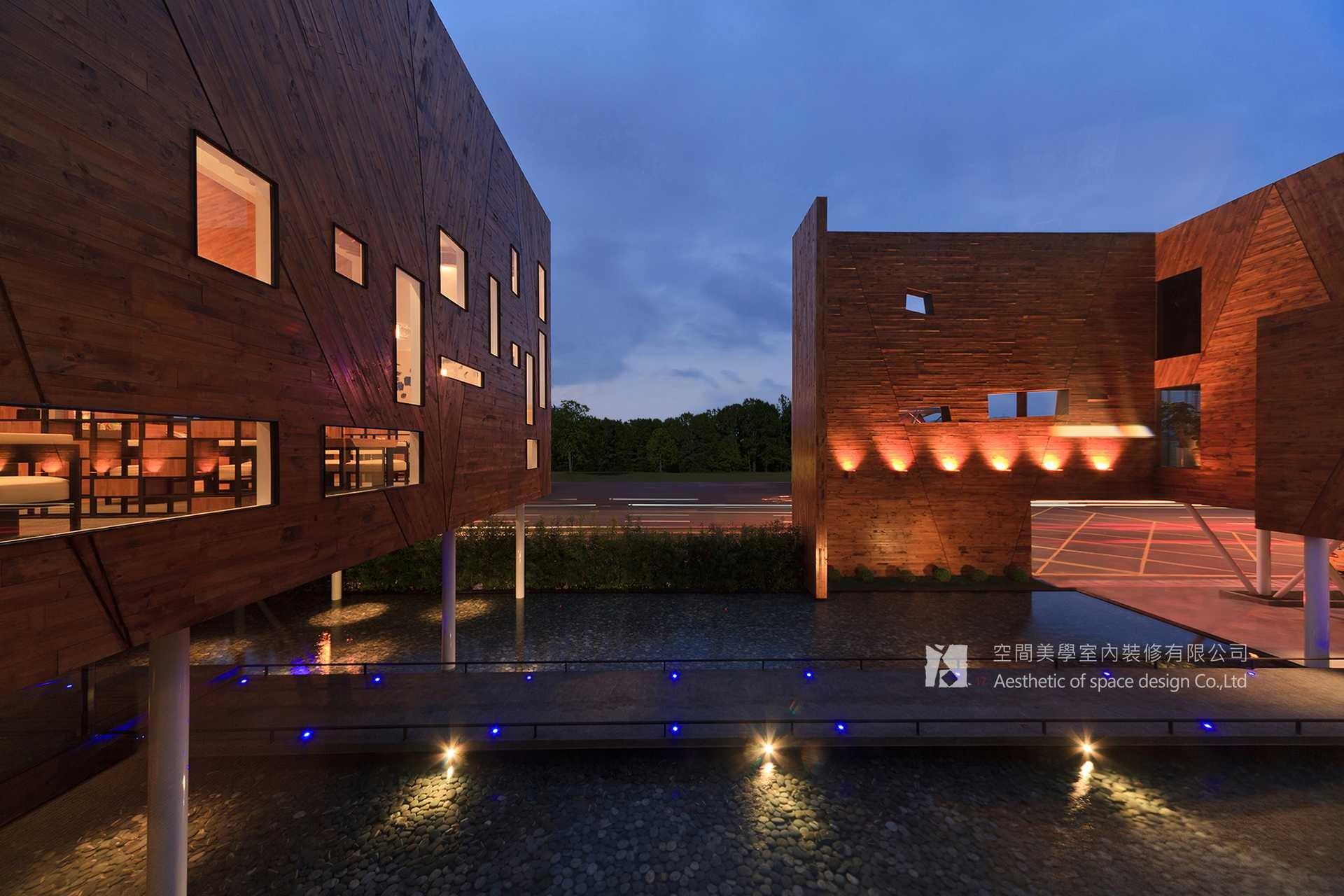 自然紋理&傾斜3°的建築思維 ∣ 接待會所