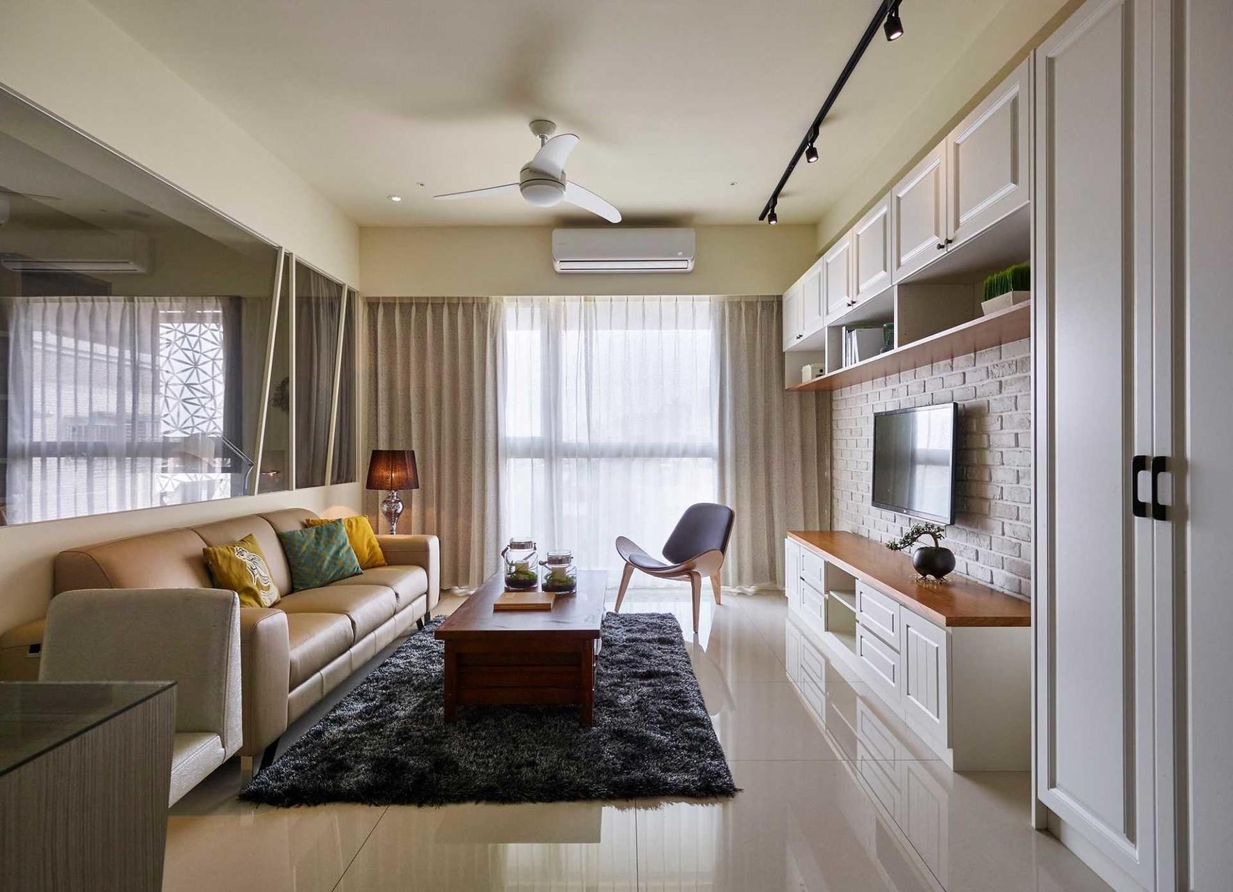 日光美式宅 砌出27坪的馨暖愜意