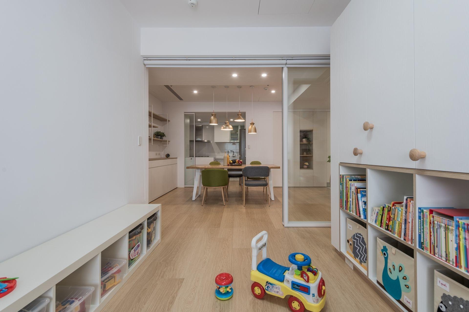 Children's room,Northern Europe