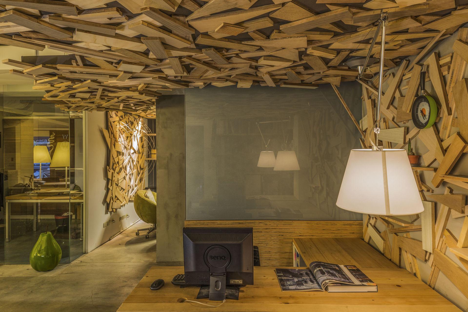 【辦公空間】亞卡默設計辦公室  |  AKUMA DESIGN OFFICE,Mashup
