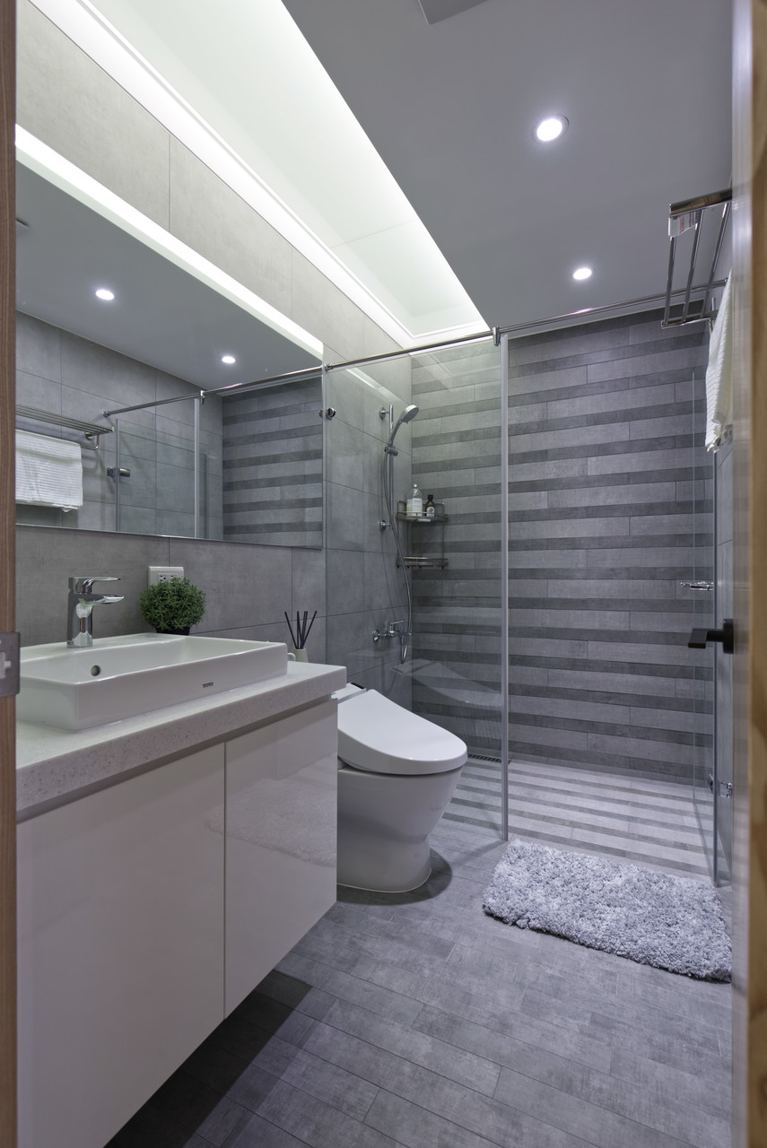 Bathroom,Northern Europe